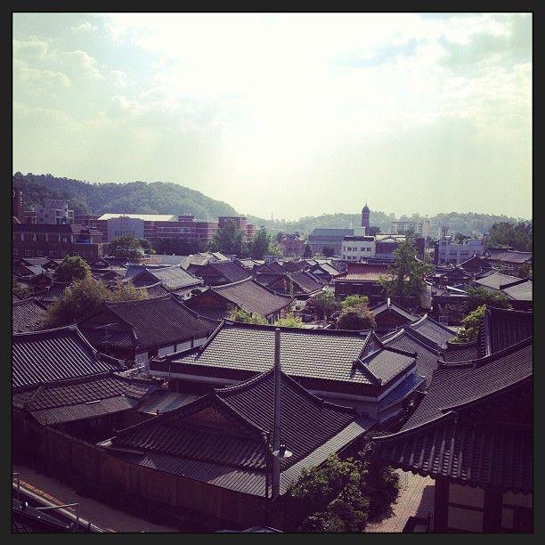 전주 한옥마을 (Jeonju Hanok Village)