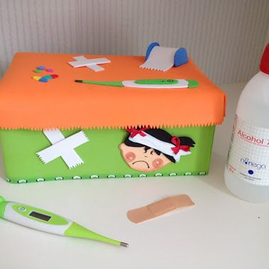 botiquín DIY infantil                                                                                                                                                      Más