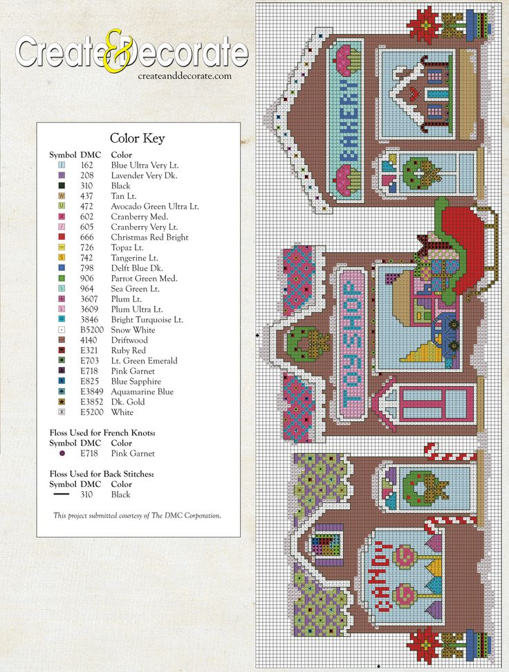 If you haven't already started, it's time to get those holiday crafting fingers busy! This Christmas Village counted cross stitch design (taken from the pages of our November/December 2013 issue) w...