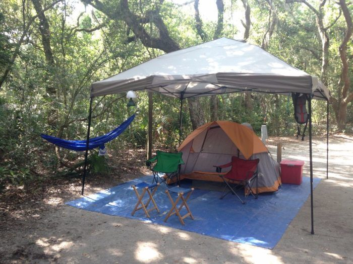10 places in Florida to camp on the beach- Have you ever wished your beach day didn't have to end?