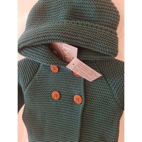 Queda la talla 6 meses y 18 meses Precio rebajado 26,43€ Disponible en el siguiente enlace http://latitaloca.com/es/rebajas-ropa-yoedu/2736-trenka-bebe-capucha.html
