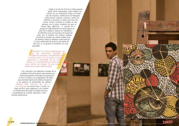Segunda edición de #ElZarzoRevista sección #UnPocodeCalle