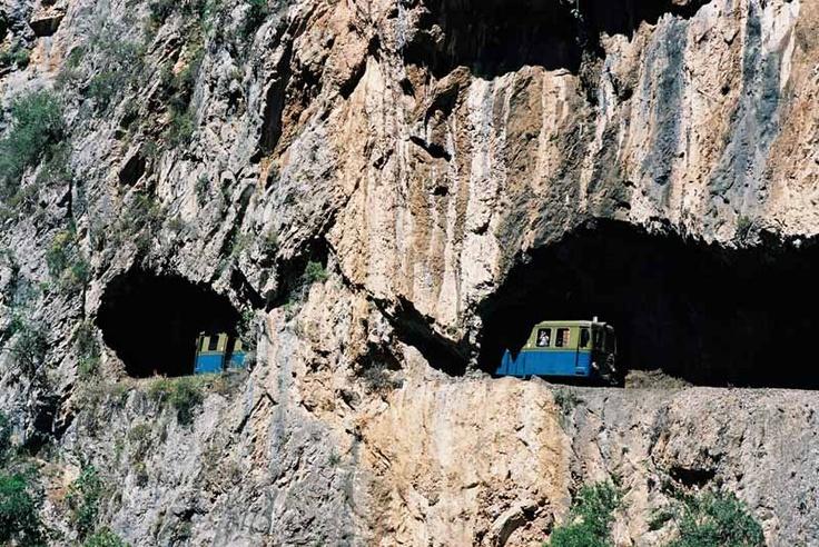 Odontotos rack railway - Kalavryta - Greece
