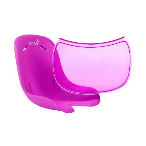 Boon Flair Chair Seat Pad Plus Tray Liner,Pink Large