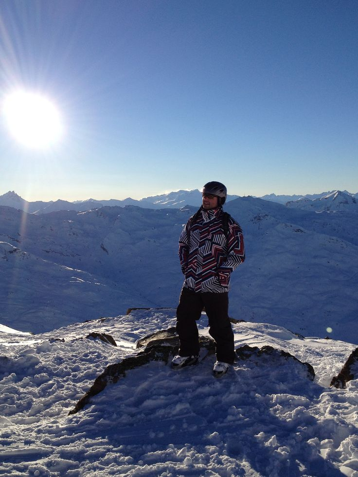 On top of the world!