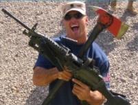 Aaron Leming, soldier & firefighter.  Spirit of the hero To Hero Troop Morale Campaign.