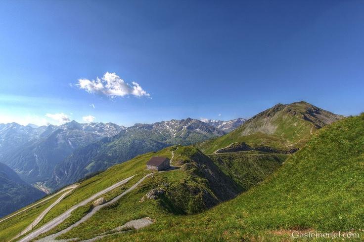 Blick vom Stubnerkogel in Bad Gastein
