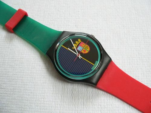 1986 Vintage Swatch Watch Sir Swatch GB111... quanti ricordi!