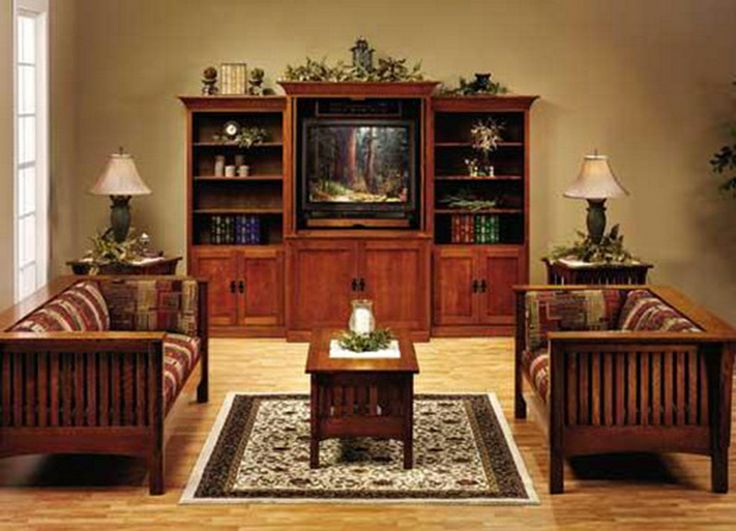 46 best images about craftsman style home decor ideas on for Mission living room ideas