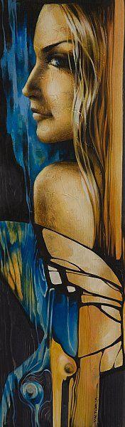 1421.jpg (176×600) La pintora Victoria Stoyanova, de Bulgaria. Cada persona tiene su ideal sobre la belleza femenina.