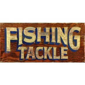 17 best images about vintage adirondack on pinterest for Vintage fishing signs