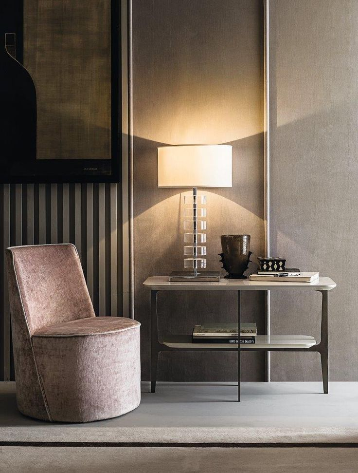 LEA armchair by Paola Navone DUPRE small table by Roberto Lazzeroni  Have a look at our Home collection on http://bit.ly/2te90oL