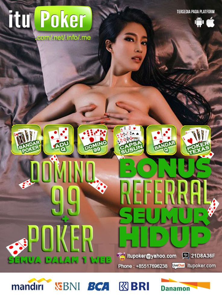 Judi BandarQ Online ===================== www.ituPoker.net Agen BandarQ Domino99 Judi Capsa Susun AduQ Main Jadi Bandar Poker