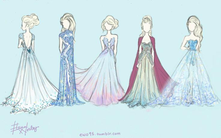 Vestidos de elsa