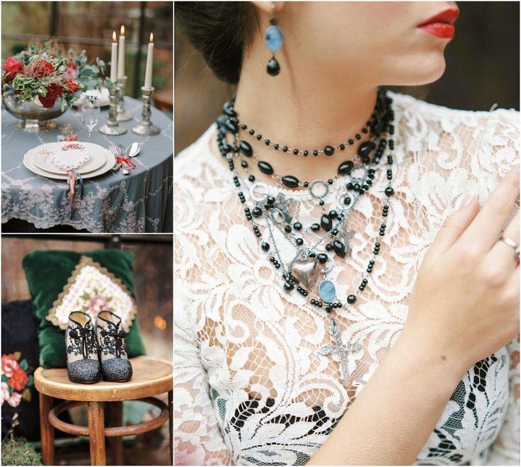 Siegrid Cain Editorial Maria dark mysterious inspiring wedding bride lingerie black veil candles winter braut_0010.jpg