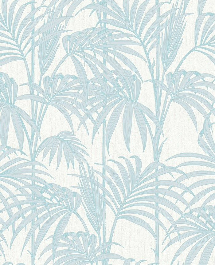 Papier peint Honolulu Bleu-vert par Graham and Brown