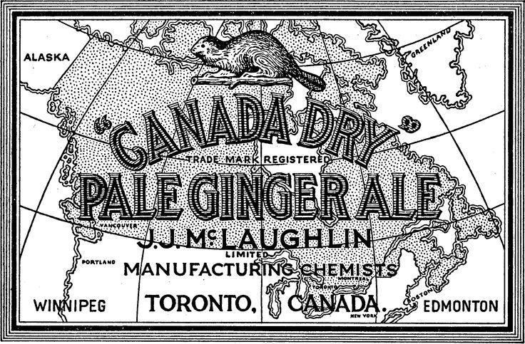 Canada Dry label, 1906