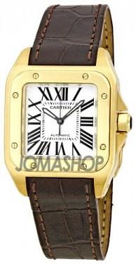 Cartier Santos 100 Ladies Watch W20112Y1 ¥105535