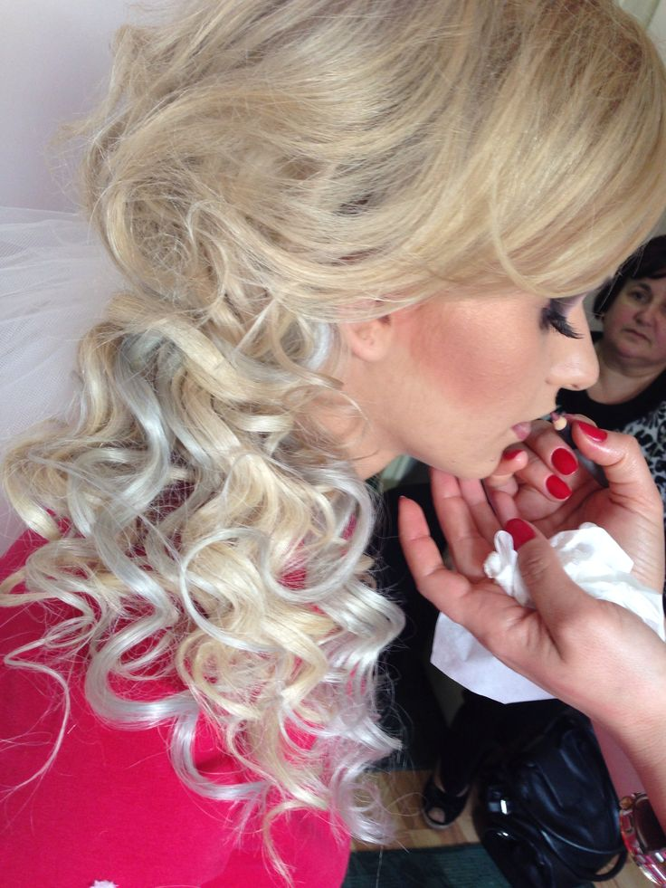 Wedding Make-up&Hairstyle by Elena Panait