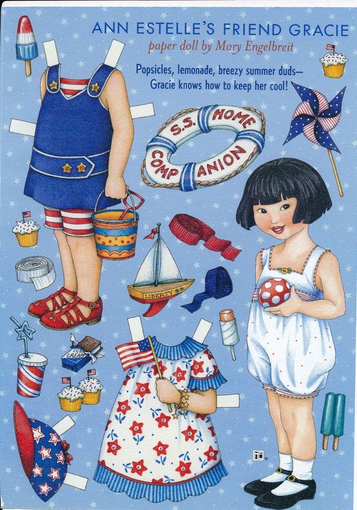 Mary Engelbreit Paper Doll Gracie Vol 6 No 4 Jun Jul 2002 | eBay
