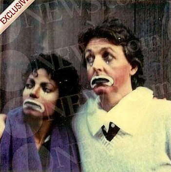Michael Jackson & Paul McCartney Clowns: