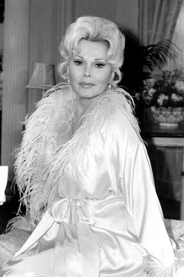 - zsa zsa gabor - want this robe! bad!!