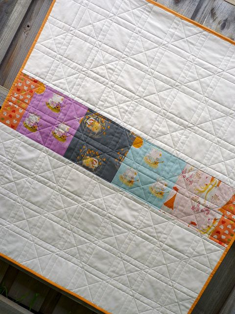 Remember this for straight-line quilting
