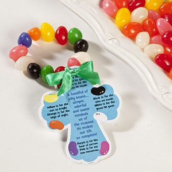 colors of faith jelly bean bracelet