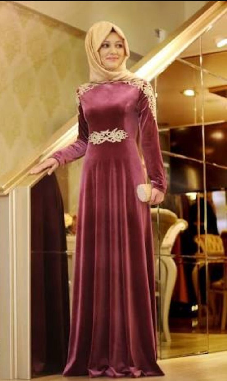 Hijab style *simple dress*