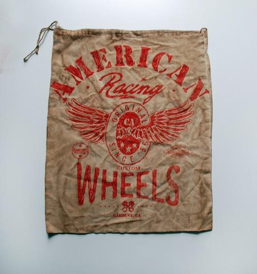 AMERICAN RACING CUSTOM WHEELS PARTS BAG #AmericanRacing #Wickedquick #screenprint