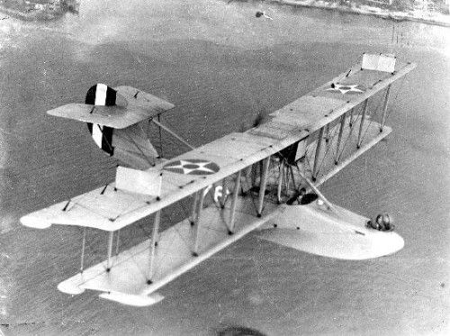 A Curtiss HS-2L flying boat. Source: San Diego Air & Space Museum archives