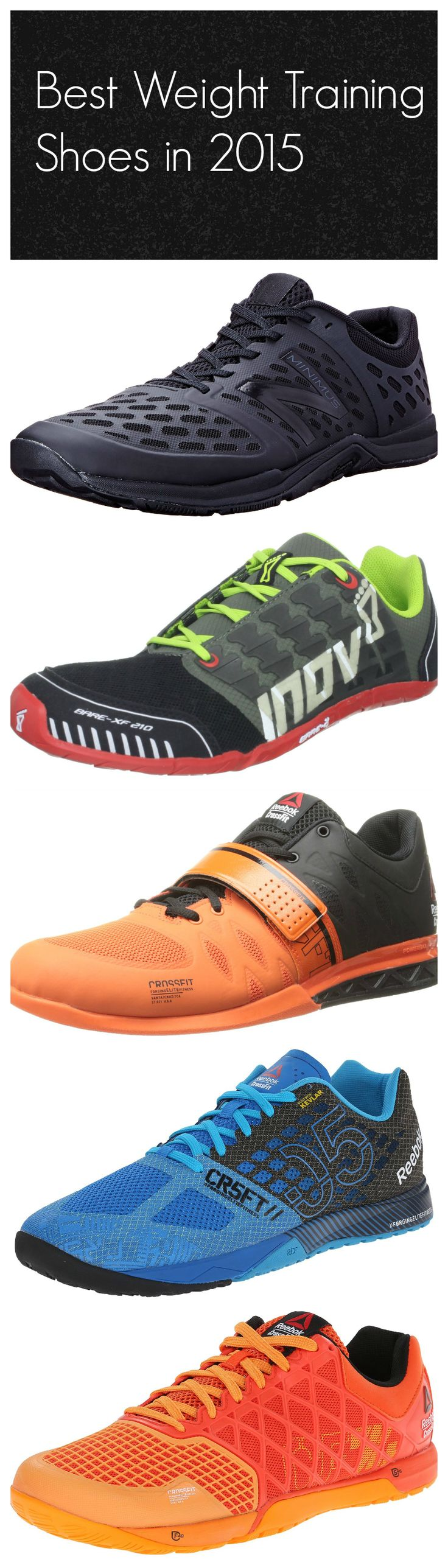 Best Weight Training Shoes in 2015