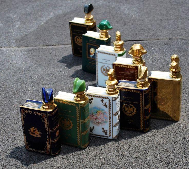 CAMUS Cognac NAPOLEON 1769-1969 Porcelian Decanter 22K GOLD Limoges France