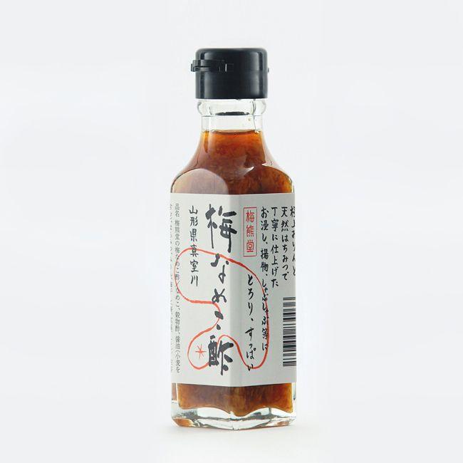 梅熊堂の梅なめこ酢  Client. Umekumado Bottle Package 2011 Yamagata