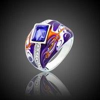 Wish | Protoss Series Purple Crystal Ring