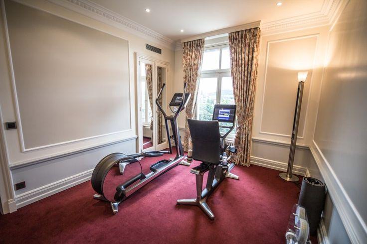 Fitness room luxury hotel bern