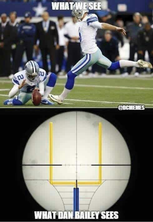 Dan bailey the man