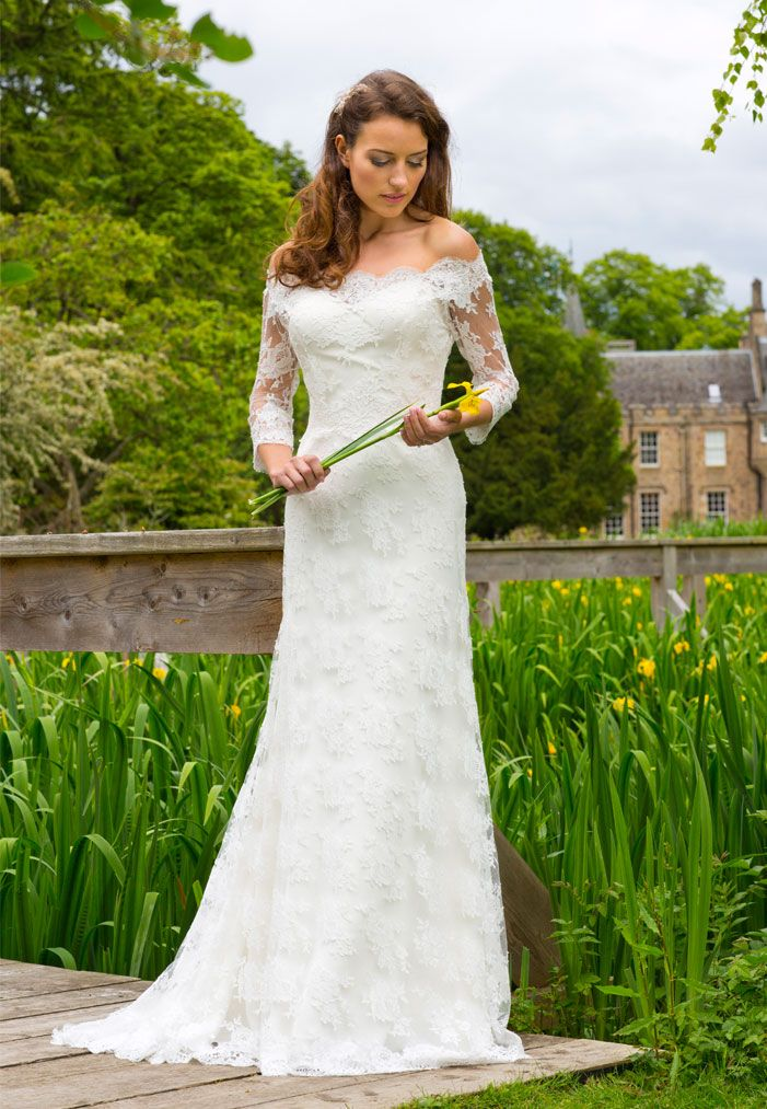 48 best liliana dabic for la novia couture images on for Scottish wedding guest dress