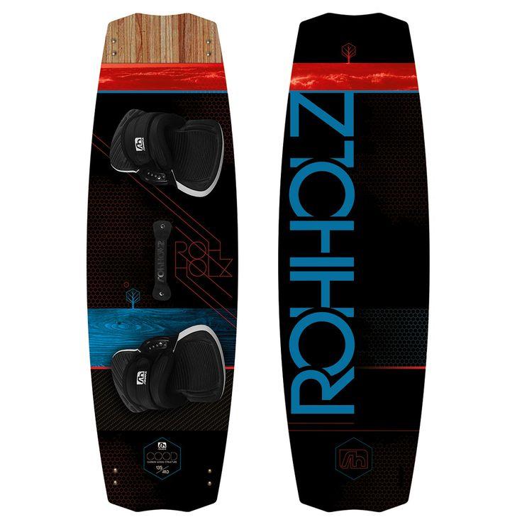 Das Rohholz Cood Kiteboard bietet eine Mischung aus Carbon und Wood und ist die erste Wahl, wenn es um radikalen Freestyle und komfortablem Freeride geht.