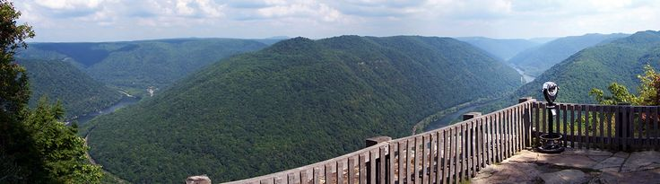 Grandview State Park - view from the Main Overlook