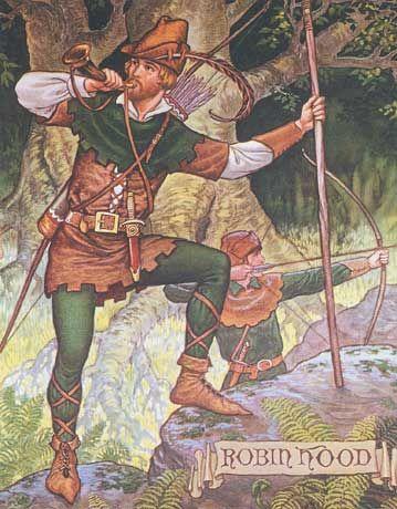 Contes et légendes...Légende de Robin des Bois - Frawsy                                                                                                                                                                                 Plus