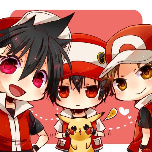 Red (Pokémon), Pikachu (by Hajime, Pixiv Id 5118392)