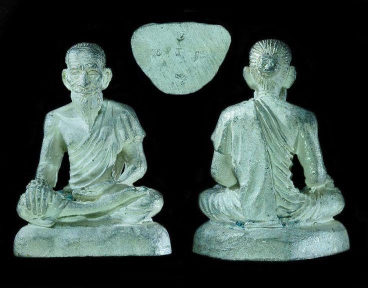 Lersi Cheewok Gomaapac Luang Phor Jarun Wat Ampawan BE2554. Phim Kamakan, Silver rough material 神医鲁士赤卧共马帕,龙婆扎兰瓦安巴湾佛寺,佛历2554。理事模,纯银未磨光料,佛牌编号727。据说鲁士赤卧是佛主的医师