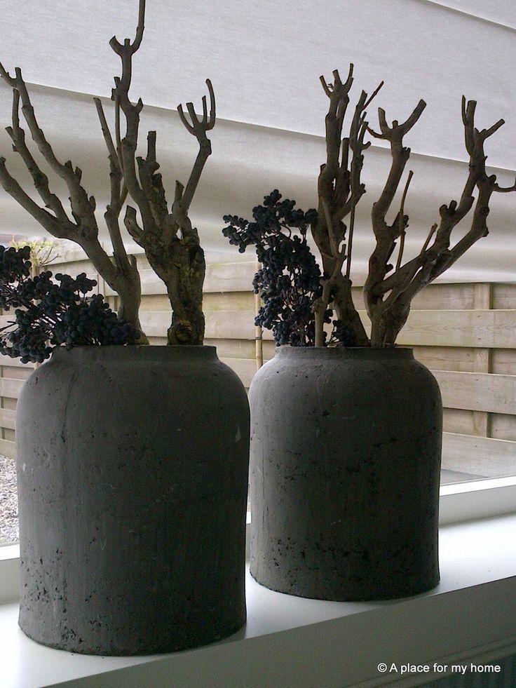grote potten vensterbank