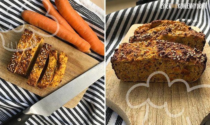 Low Carb Rezept für ein leckeres Chia-Eiweißbrot. Wenig Kohlenhydrate und einfach zum Nachkochen. Super für Diät/zum Abnehmen.