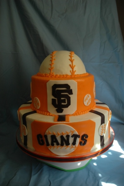 Sf Giants By Ac7417 On Cakecentral Com Cakes And