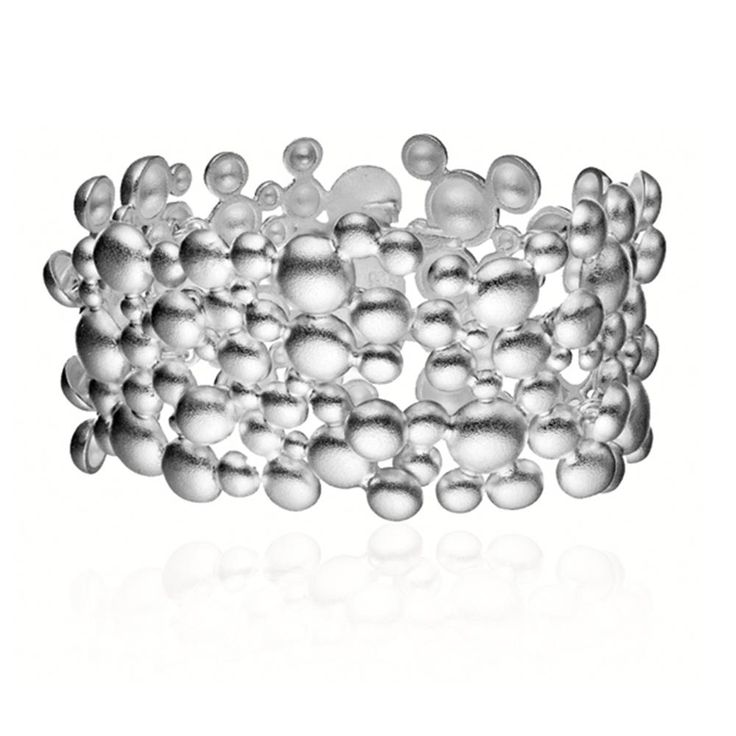 WINTER PEARL  Design Mari Isopahkala / Silver Bracelet / Lapponia Jewelry / Handmade in Helsinki