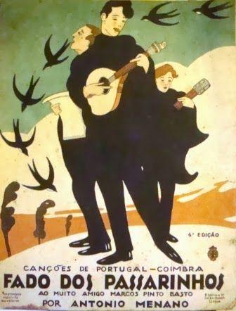 Vintage Fado Poster