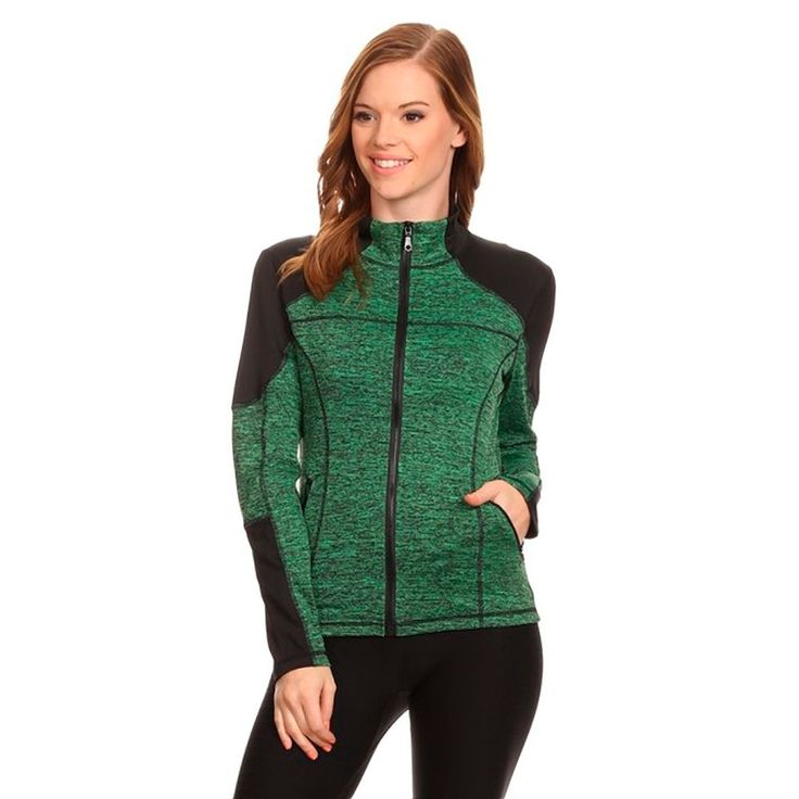 Women's Active Wear Zip Up Jacket