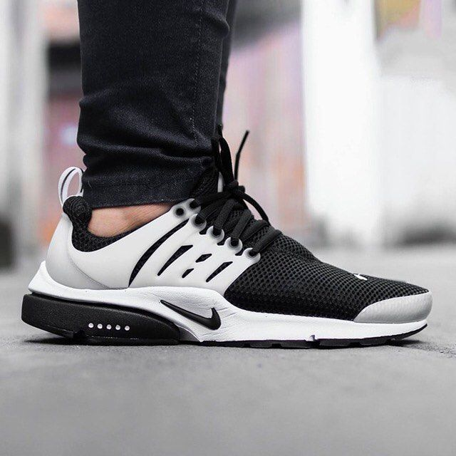 The clean black/white look hits the Nike Air Presto. Check these out on SneakerNews.com